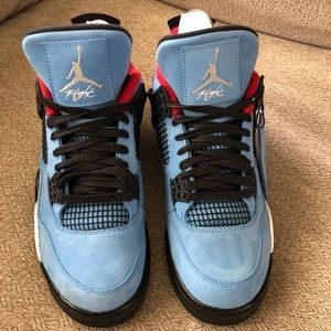 Shoes - Jordan 4 Travis Scott cactus jack